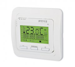 Digital thermostat for the floor-heating