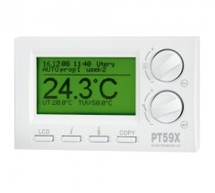 Thermostat with OpenTherm and connect. for GSM