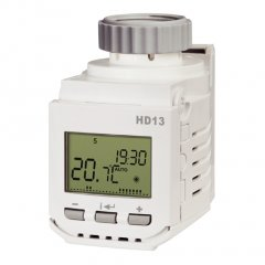 Digital thermostatic head