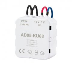 Built-in 5V switching power supply