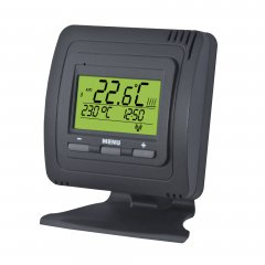 Wireless thermostat with stand