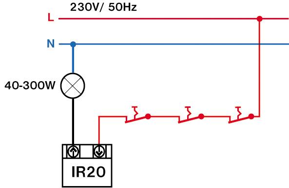 Výsledek obrázku pro Pohybové čidlo IR20